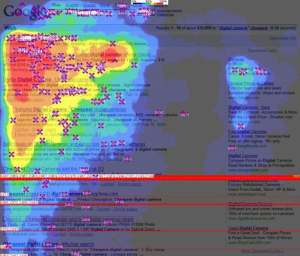 eye tracking heatmaps