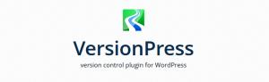 VersionPress - Version control plugin for WordPress